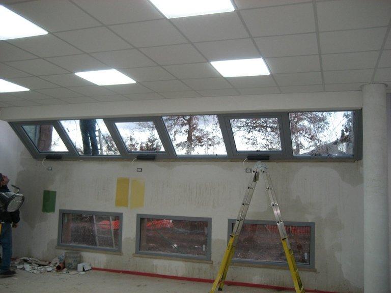 cantiere finestre alluminio