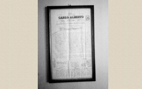 attestato avvocato Vittorio Emanuele