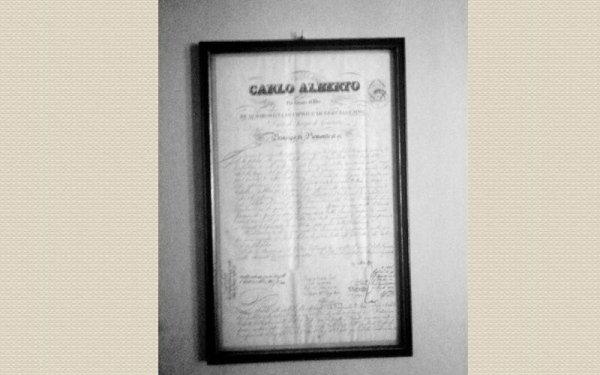 attestato avvocato Carlo Alberto