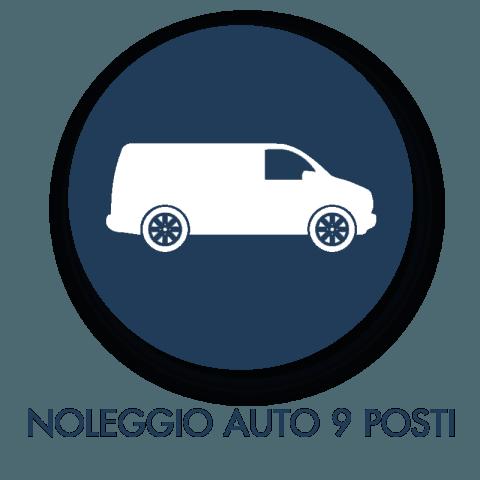 Noleggio auto 9 posti