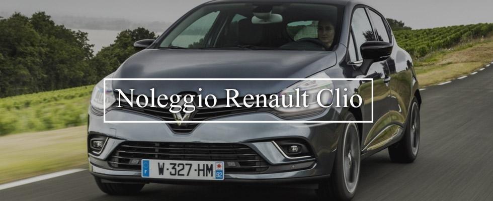 Renault Clio a noleggio