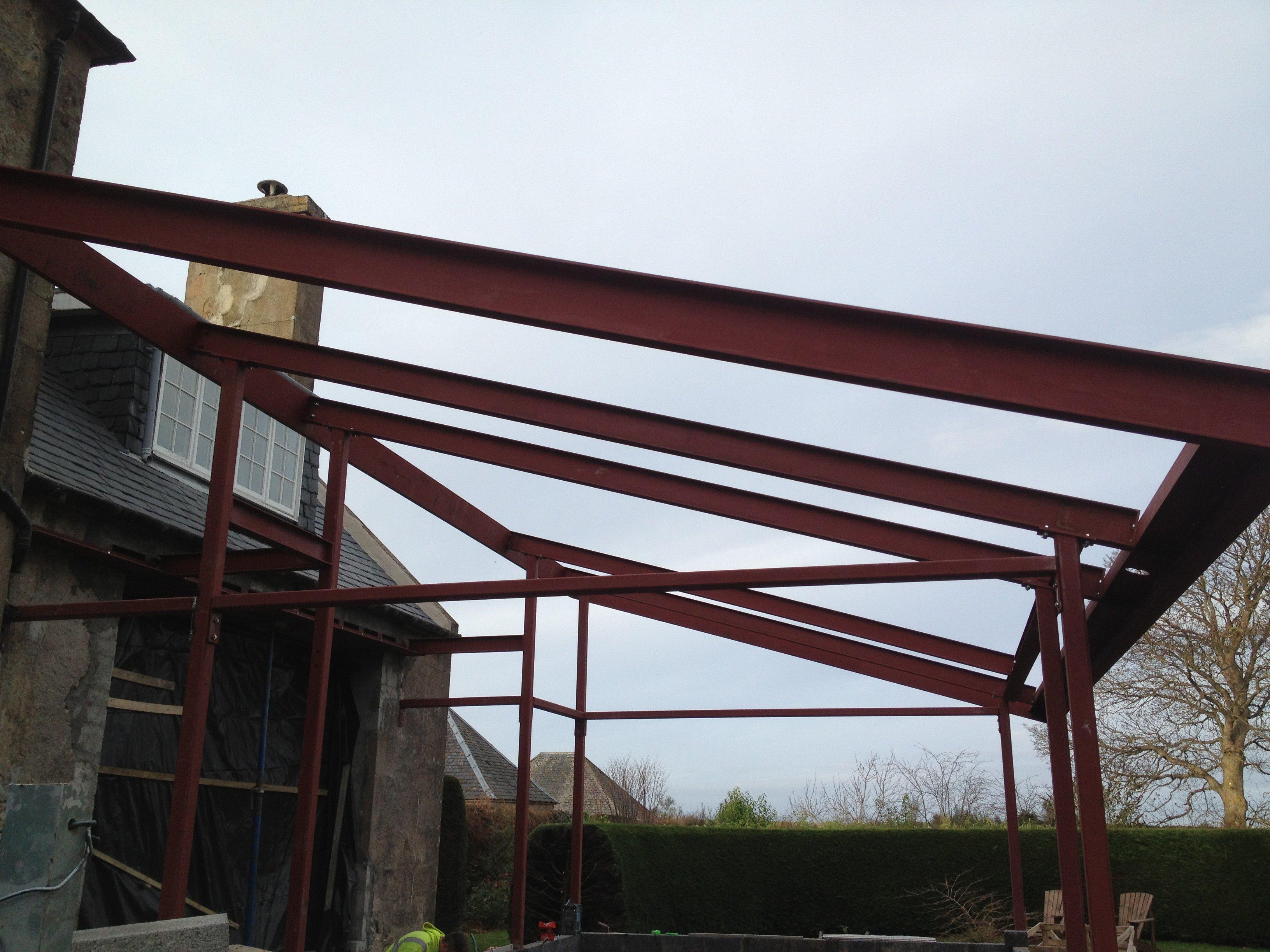 bespoke metal structures