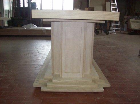 base tavolo rettangolare