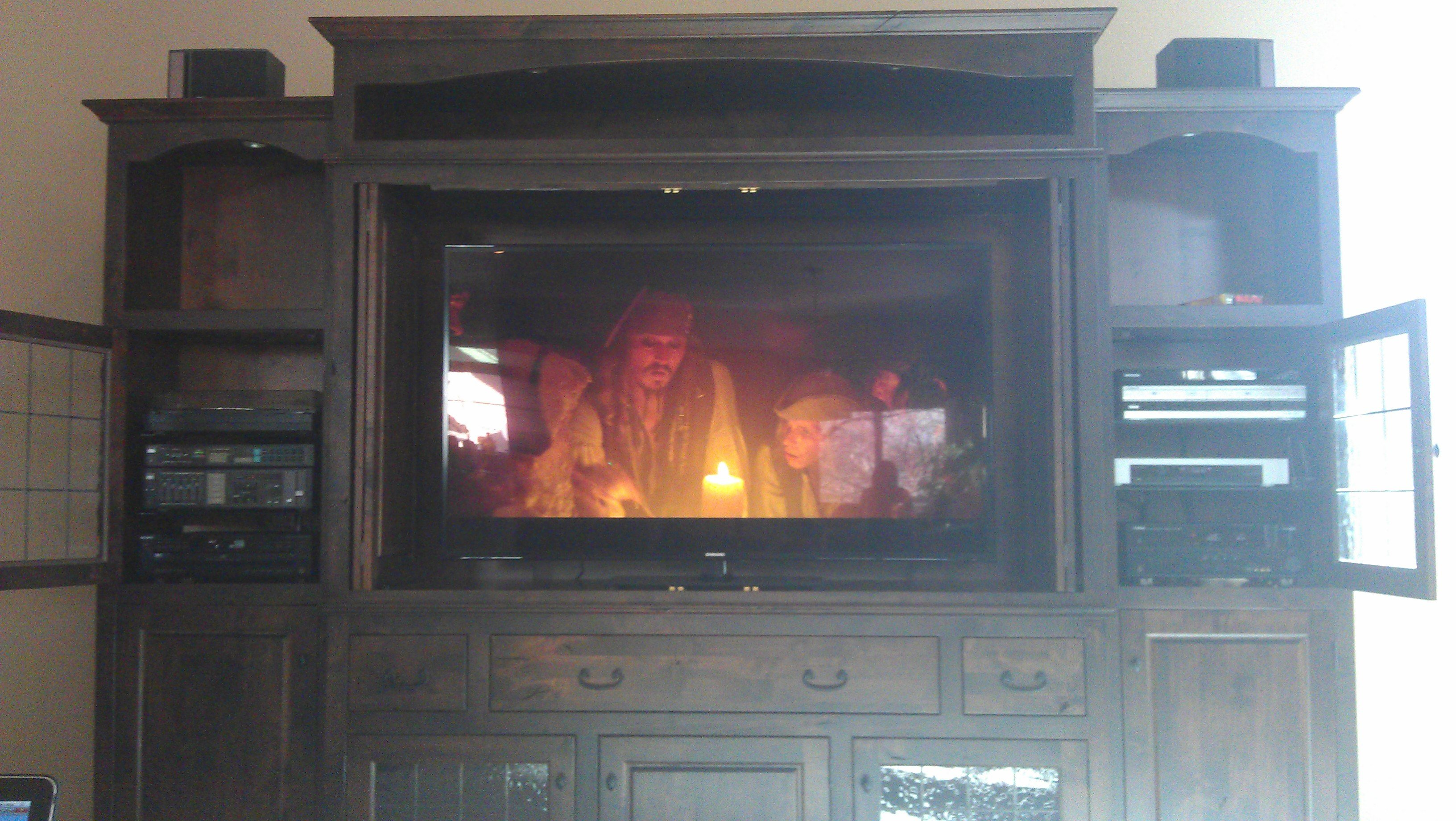 Home theatre system set up by Live Wire Electrical in Littleton, CO