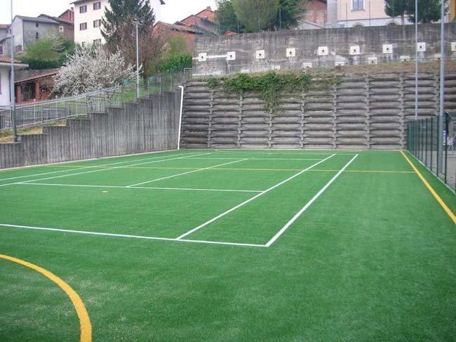 Campo di gioco a Rovasenda