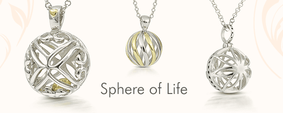 sphere of life pendent