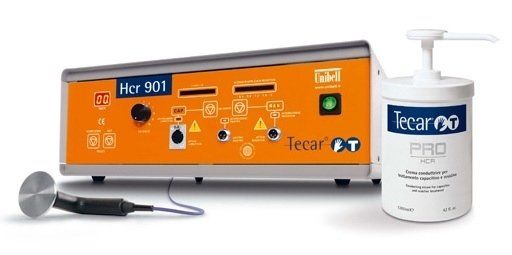 dispositivo e crema a marchio TECAR