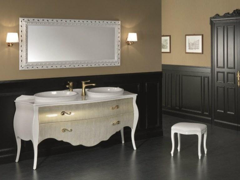 Mobile bagno doppio lavello amazing design funzionale bagno in