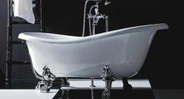 showrrom Rossano, esposizione vasca idromassaggio, rubinetteria, prodotti per la termoidraulica
