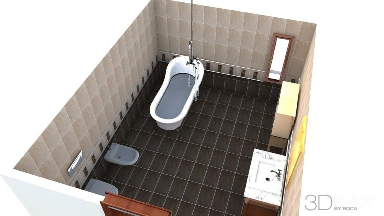 Progetti bagni 3D