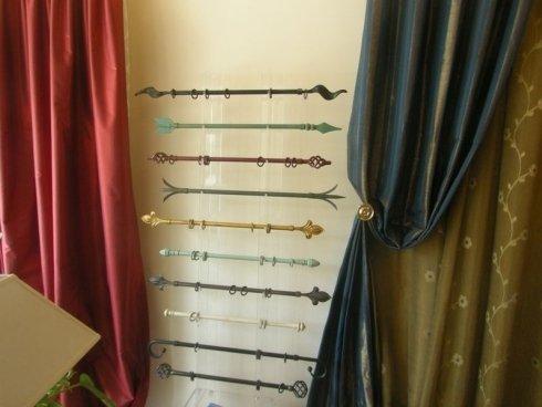 accessori per tendaggi