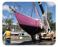 MLC lifting boat