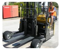 Caloundra General Transport forklift