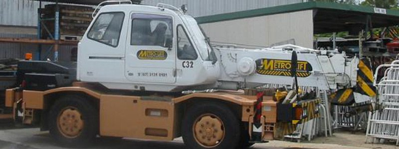 Metro Lift Crane Hire About us