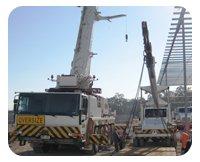russell transport crane