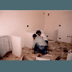 costruzione cucina muratura
