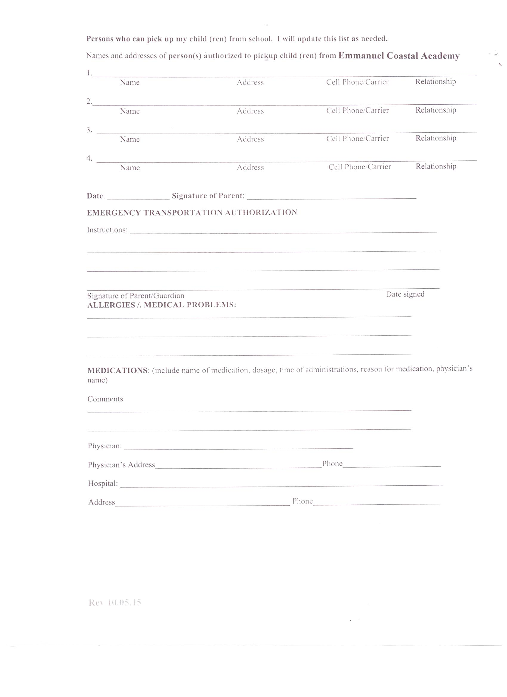 Emmanuel coastal academy jacksonville fl admissions requirements aiddatafo Images