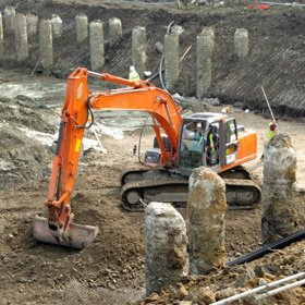 Machinery hire - Peterborough, Cambridgeshire - D Picking - Groundworks