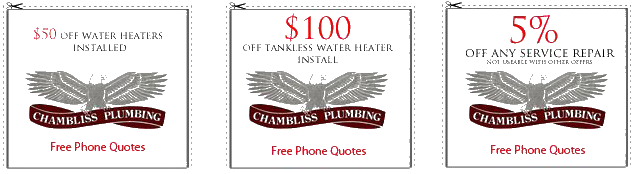 Chambliss Plumbing coupons