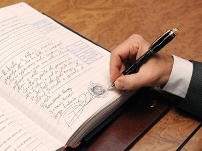registrazione atti notarili