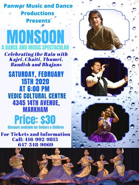 Panwar Music and Dance Productions' Monsoon