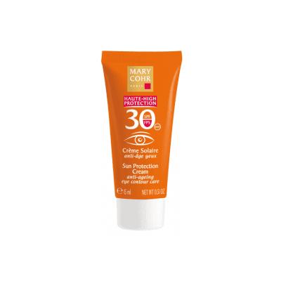 Spf30 crème solaire anti-âge yeux