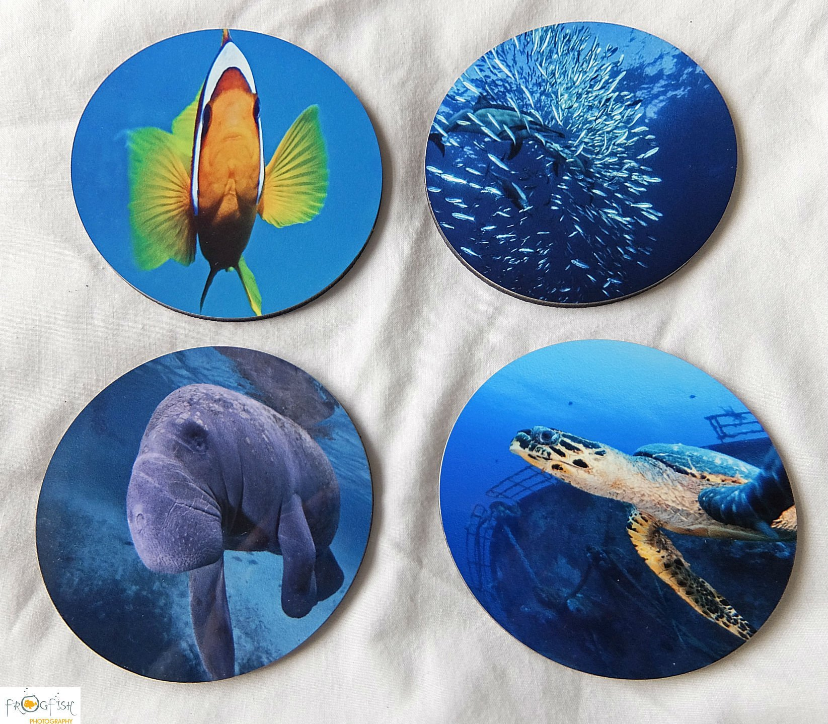 Underwater Images, Coasters, gifts, presents