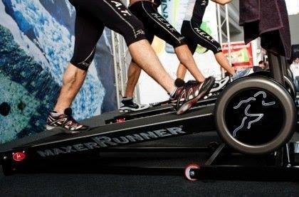 L'allenamento sul tapis roulant a Roma