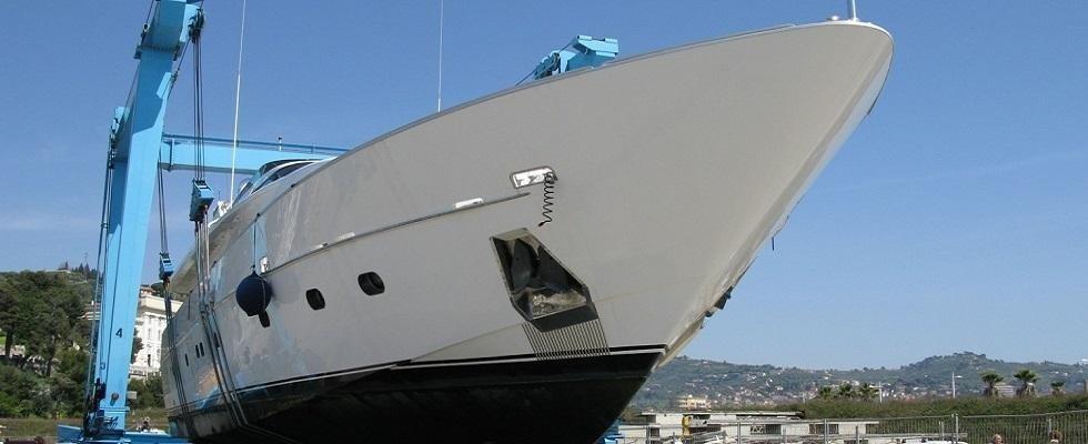 riparazione yacht