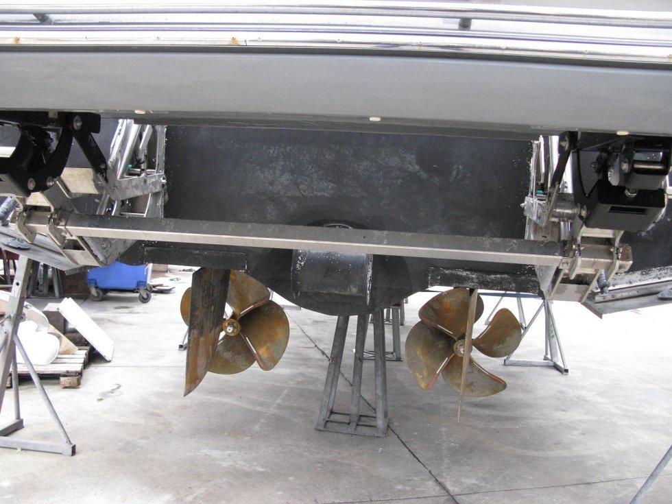 riparazione eliche di bordo