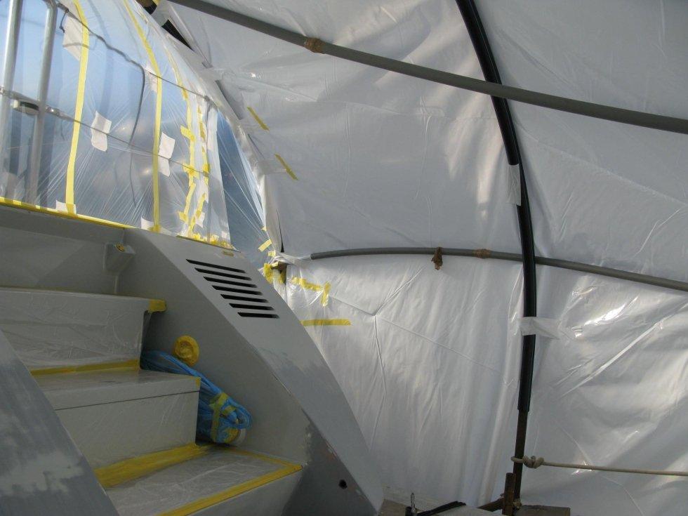 riparazione scaletta yacht