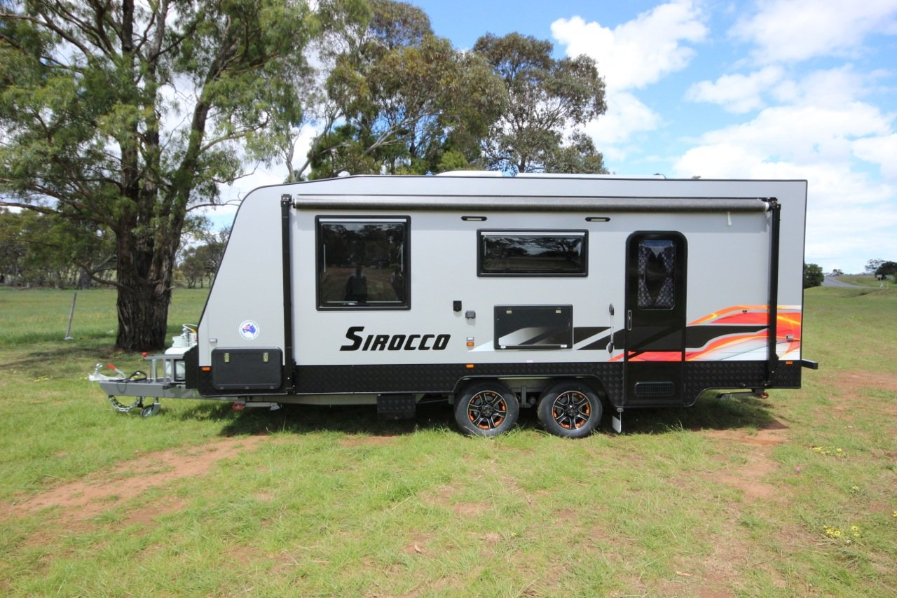 Luxury Caravan For Sale QLD Emerald 2006 Bushtracker Caravan For Sale QLD