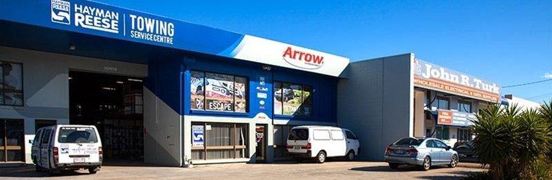 Arrow Caravans Showroom