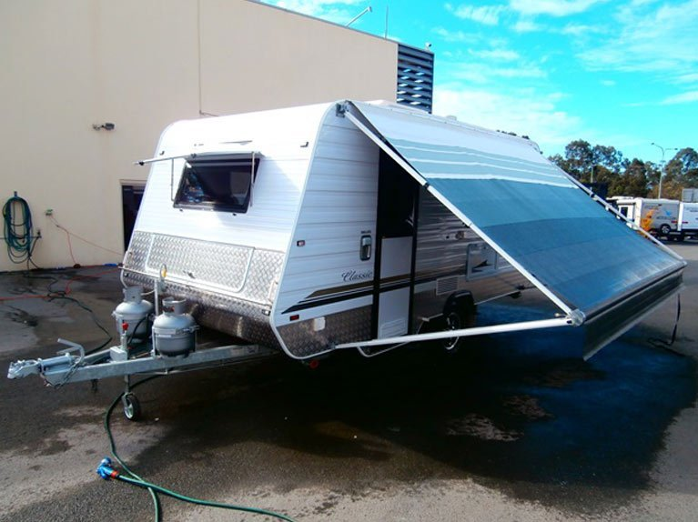 One of our used caravans in Brisbane