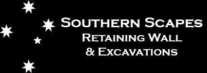 Southern Scapes Retaining Wall and Excavations Logo