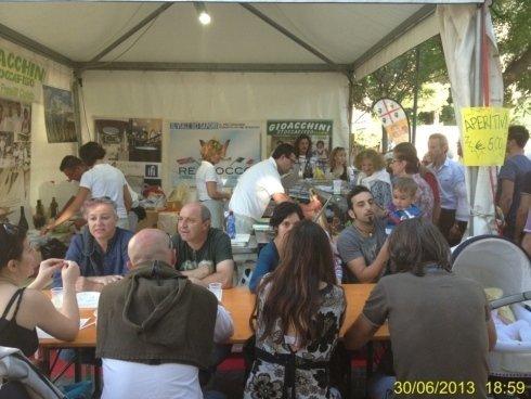 il nostro stand al festival dello stoccafisso Il Viale dei Sapori 2013