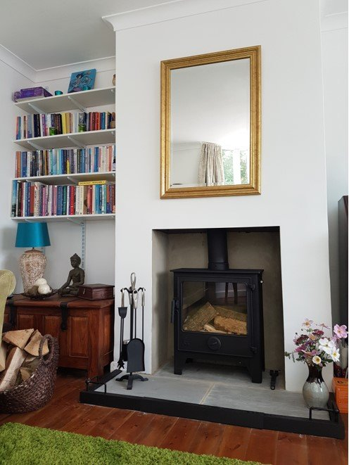 Fireplace refurbishment