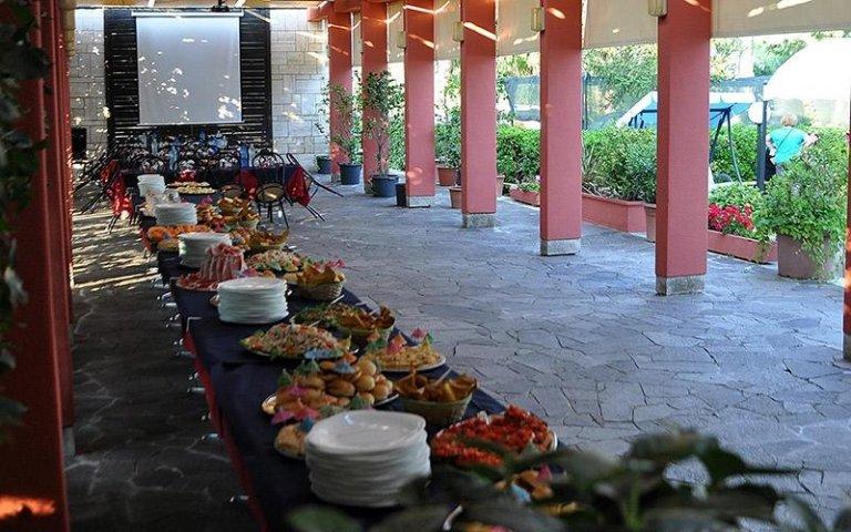 Area esterna per feste