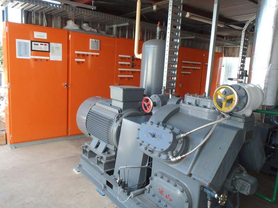 boumbis orchards cold room upgrade machinery