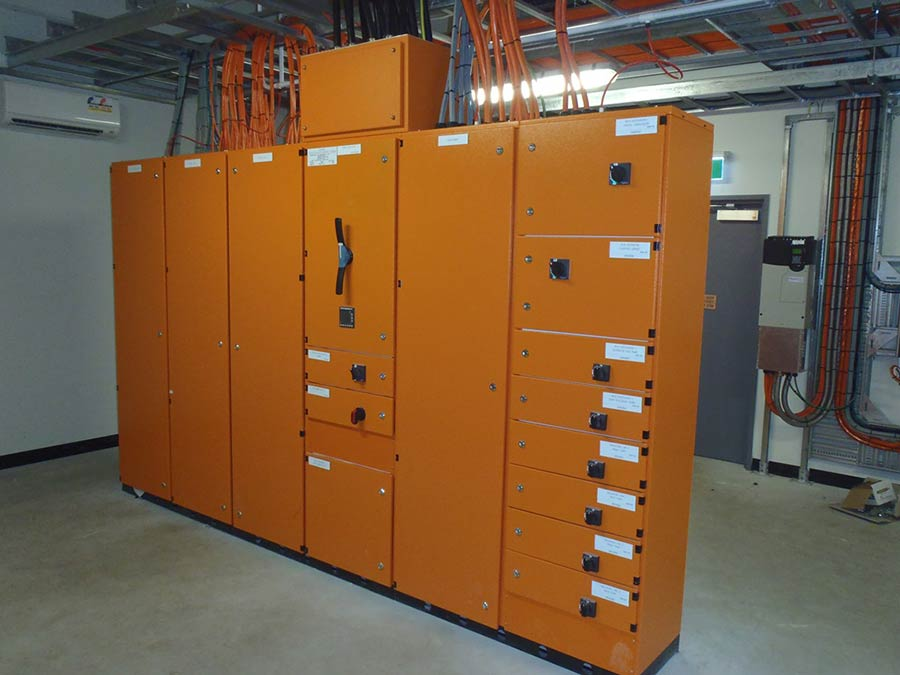 melbourne factory orange machinery