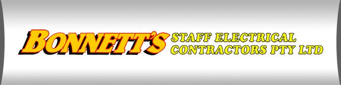 Bonnetts Staff Electrical Contractors Pty Ltd