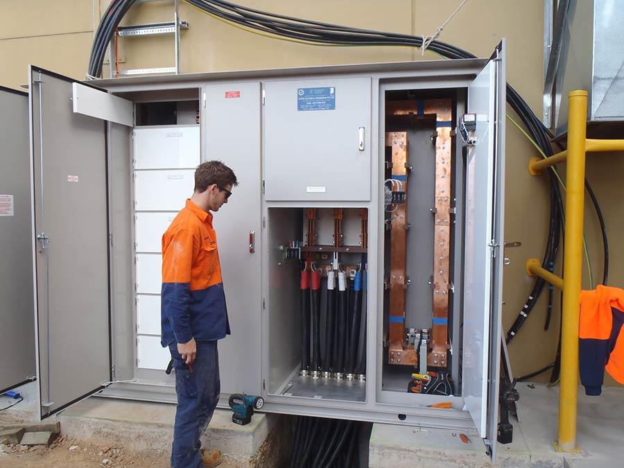 radevski cold room worker inspecting machinery