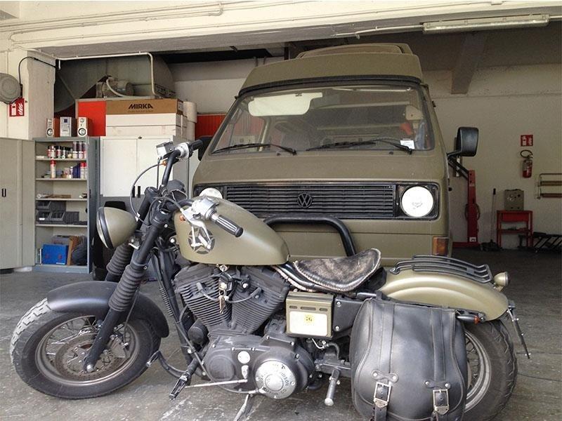 Restauro Moto Auto