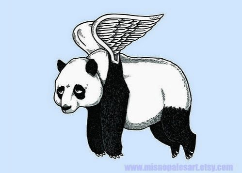 You Can Give A Panda Wings But Cant Make Him Fly