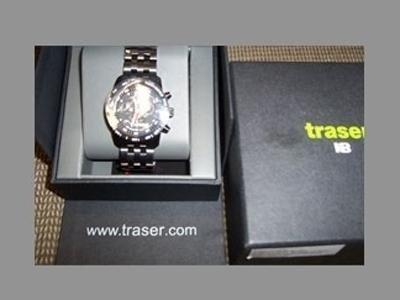Orologio cronografo TRASER mod CLASSIC CHRONO BD PRO