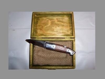 Coltello a lama chiudibile in acciaio inox RWL34 bonificato