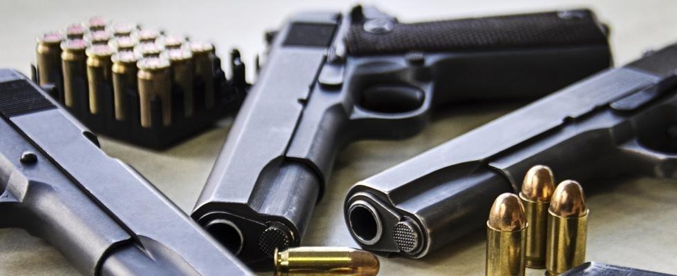 pistole e proiettili