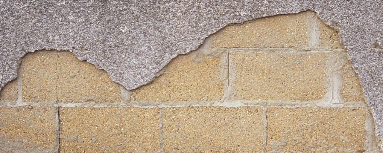 Plaster repairs