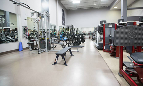 Equipment's at the fitness center in Ballwin, MO