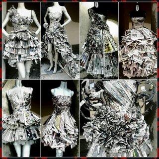 abiti di carta